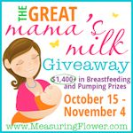 The Great Mama's Milk Giveaway
