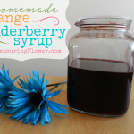 Homemade Orange Elderberry Syrup