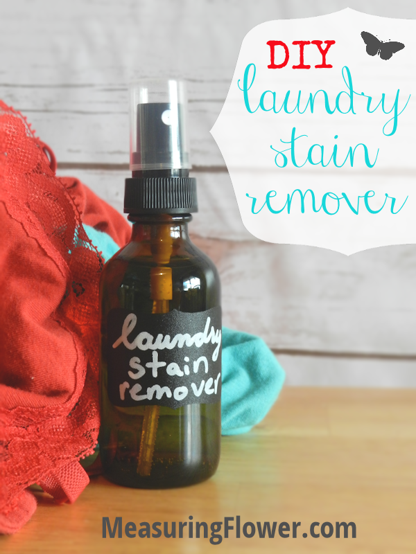 Diy Laundry Stain Remover Measuringflower Com