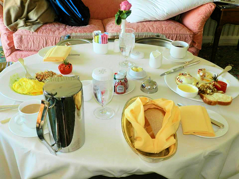 Grand America room service