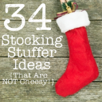 34 Stocking Stuffer Ideas {That Are NOT Cheesy}